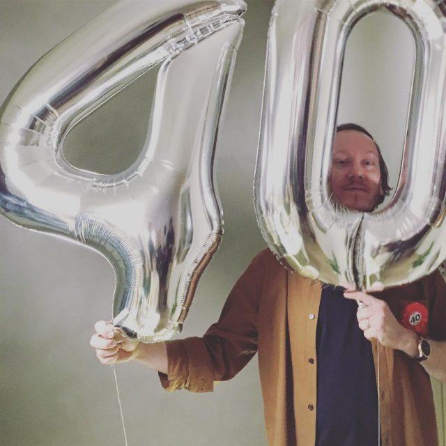 Juhlittiin tnn tt huipputyyppi rakas ystvmme mikkoelpeso 40 syntympiv juhlathellip
