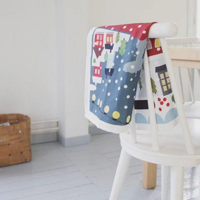 Tamperekeittipyyhe by Pilkkuraita ja Taito Shop tampere towel uusipostausblogissa newblogposthellip